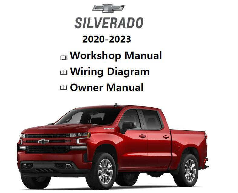 2020 2023 Chevrolet Colorado Silverado, Chevrolet Truck Wiring Diagrams
